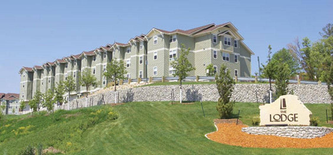 Image of The Lodge Apartment Complex - Iowa City, IA
