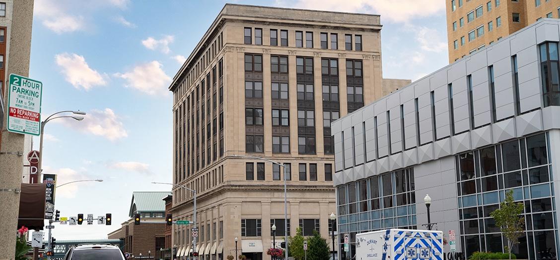 Image of the Union Arcade Building - Davenport, IA