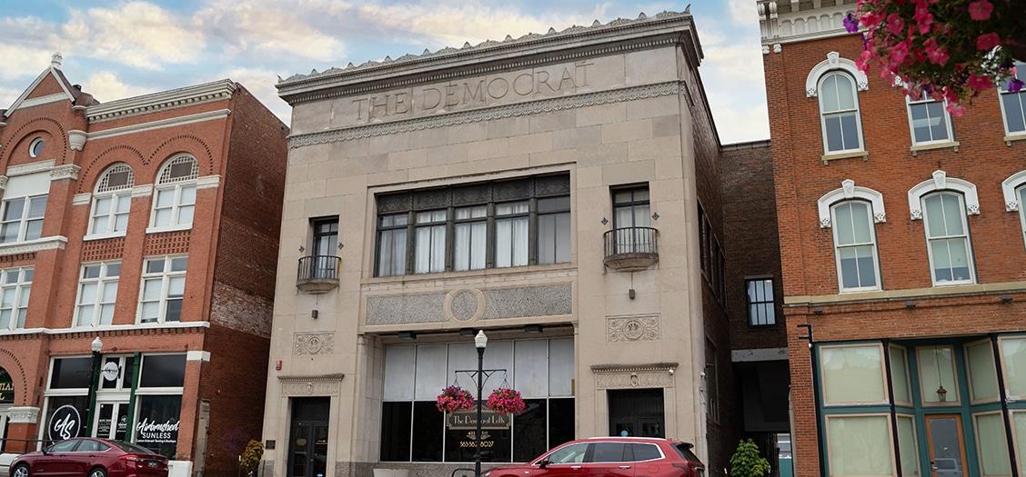 Image of the Democrat Building - Davenport, IA