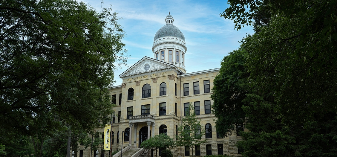 Image of Augustana College - Old Main - Rock Island, IL