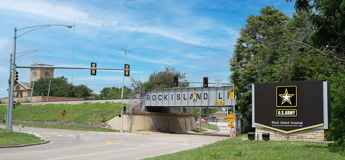 Image of Rock Island Arsenal - Rock Island, IL