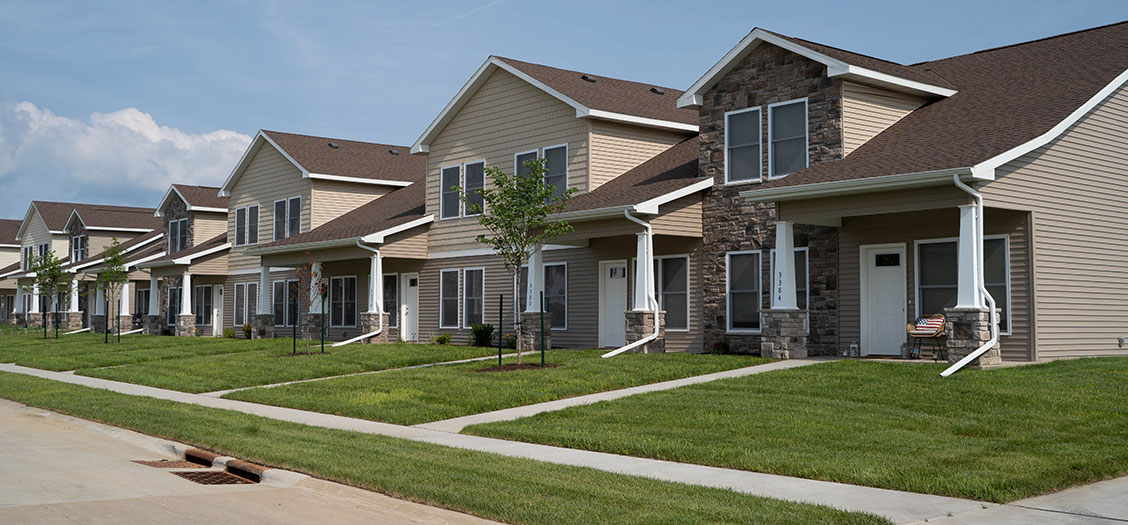 Image of Residential Townhomes - Davenport, IA