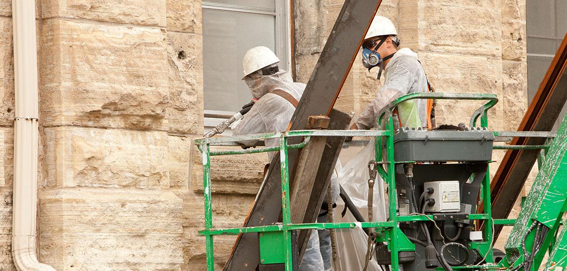 Image of Lead Paint - Asbestos Caulk Abatement
